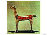 Silver Llama Figurine, from Peru, after 1438 Giclee Print by Incan