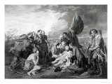 The Death of General Wolfe 1759 Giclee Print by Benjamin West