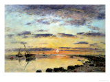 Le Havre, 1889 Giclee Print by Eug&#232;ne Boudin