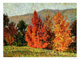 Autumn Landscape, circa 1903 Reproduction procédé giclée par Henri Edmond Cross