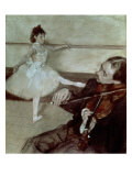The Dance Lesson, circa 1879 Giclee Print by Edgar Degas