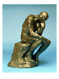 The Thinker, 1880 Giclee Print by Auguste Rodin