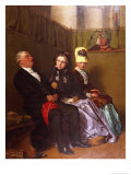 The Inspiring Sermon Giclee Print by William III Bromley