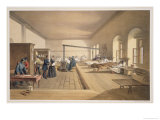 "Hospital at Scutari, Plate from ""The Seat of War in the East"" Giclee Print by William Simpson"