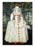 Princess Elizabeth 1603 Giclee Print by Robert Peake