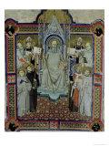 St. Benedict Giclee Print by  Jacopo Di Cione
