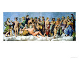 "The Council of the Gods, Ceiling Decoration from the ""Loggia of Cupid and Psyche,"" 1510-17 Giclee Print by Giulio Romano"