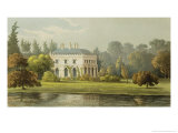 "Elvills, Englefield Green, from Ackermann's ""Repository of Arts,"" 1827 Giclee Print by Frederick Wilton Litchfield Stockdale"
