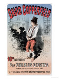 Advertisement for &quot;David Copperfield by Charles Dickens,&quot; 1884 Giclee Print