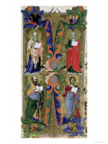 Four Evangelists, 14th Century Reproduction procédé giclée par Jacopo Di Cione