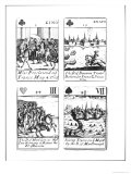 Playing Cards Commemorating the War of the Spanish Succession Giclee Print by Robert Spofforth