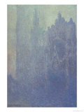 Rouen Cathedral, Foggy Weather, 1894 Giclee Print by Claude Monet