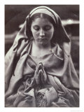 St. Agnes Giclee Print by Julia Margaret Cameron