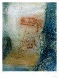 Symbolic Figures, Rock Painting, Prehistoric Giclee Print