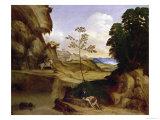 Il Tramonto Giclee Print by  Giorgione