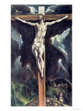 Crucifixion Giclee Print by El Greco 