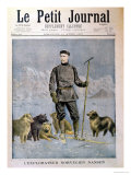 "The Norwegian Explorer Nansen, Front Cover of ""Le Petit Journal,"" 11th April 1897 Giclee Print by Henri Meyer"