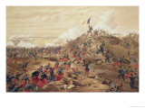 "The Attack on the Malakoff, Plate from ""The Seat of War in the East"" Giclee Print by William Simpson"