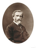 "Guiseppe Verdi from ""Galerie Contemporaine,"" 1877 Giclee Print by Etienne Carjat"