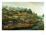 Tea Trade in China Giclee Print by George Chinnery
