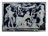 Cameo Depicting the Toilet of Venus, with an Attendant and Dionysus Giclee Print