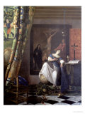 Allegory of the Faith, circa 1672-74 Giclee Print by Jan Vermeer