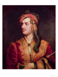 Portrait of George Gordon 6th Baron Byron of Rochdale in Albanian Dress, 1813 Premium Giclee Print by Thomas Phillips