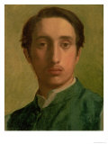 Self Portrait Giclee Print by Edgar Degas