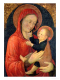 Madonna and Child Giclee Print by Jacopo Bellini