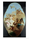Venus, Ceiling Painting Giclee Print by Giovanni Battista Tiepolo