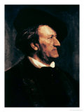 Portrait of Richard Wagner Giclee Print by Franz Seraph von Lenbach