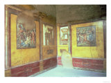 Frescos on the Walls of the Pantheus Room, House of the Vettii, 1st Century AD Giclee Print