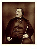 "Gioacchino Rossini from ""Galerie Contemporaine,"" 1877 Giclee Print by Etienne Carjat"
