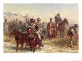 Wellington in Spain Giclee Print by Robert Alexander Hillingford