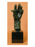 Large Left Hand Giclee Print by Auguste Rodin