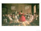 Dance in a Salon in Buenos Aires, circa 1831 Giclee Print by Domenico Pellegrini