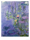 Claude Monet - Waterlilies, 1907 - Giclee Baskı