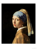 Girl with a Pearl Earring, circa 1665-6 Giclee Print by Jan Vermeer