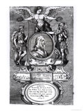 "Frontispiece of ""Plutarch's Lives"" by Plutarch, Published in 1656 Giclee Print by Francis Barlow"