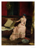The Elegant Connoisseur, 1883 Giclee Print by Gabriel Nicolet