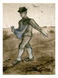 The Sower, c.1881 Giclée-Druck von Vincent van Gogh