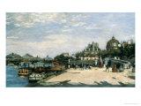 Pont Des Arts, Paris, 1867 Giclee Print by Pierre-Auguste Renoir