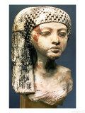 Head of a Princess from the Family of Akhenaten, New Kingdom Giclee Print by 18th Dynasty Egyptian