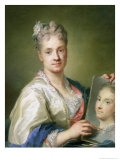 Self Portrait, 1709 Giclee Print by Rosalba Giovanna Carriera