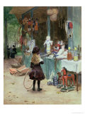 At the Champs-Elysees Gardens, circa 1897 Giclee Print by Victor Gabriel Gilbert