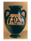 Attic Black Figure Amphora Depicting Theseus and the Minotaur, circa 540-30 BC Giclee Print