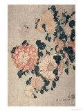 Chrysanthemen Giclée-Druck von Katsushika Hokusai