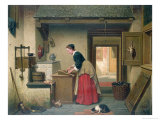 In the Pantry, 1868 Giclee Print by Carel Jozeph Grips