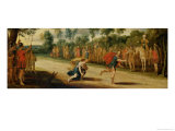 The Race of Atalanta and Hippomones Reproduction procédé giclée par Hans Jordaens III