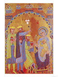 Plaque Depicting the Adoration of the Magi Giclee Print